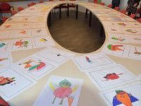 Les lauréats du concours de dessin du restaurant scolaire
