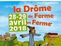 Les 28 et 29 avril 2018, Venez-vous balader De Ferme en Ferme ® (...)